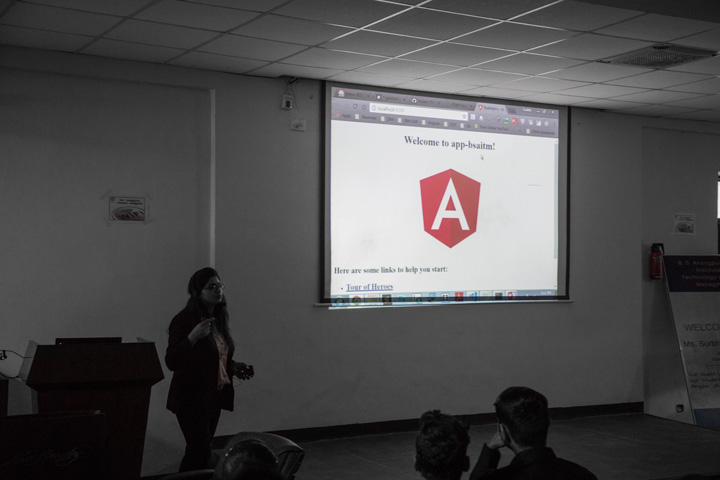 GUEST LECTURE BY SURBHI AGGARWAL – ALUMNI